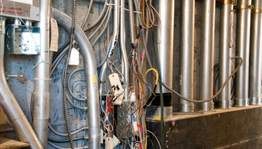 A mess of wires and conduits is a sign of substandard work.