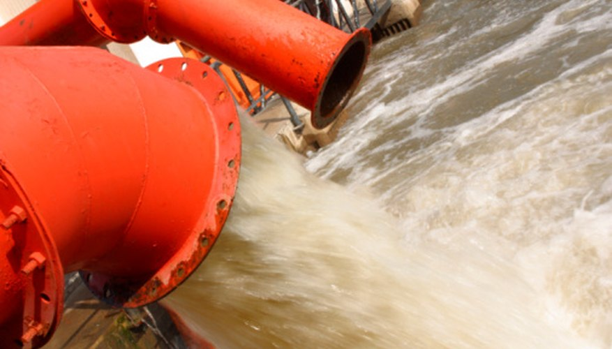 Certain forms of microorganisms in sewage are essential to the decomposition process.