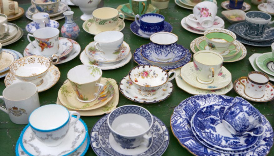 Collecting china cups is a popular hobby that can fit into any budget.