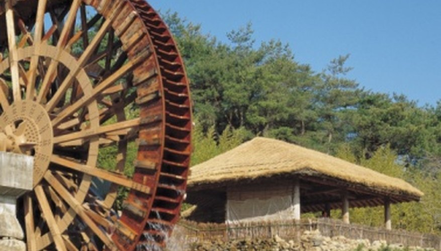 Water mills have been used around the world from the earliest days of history.