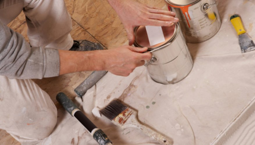 Good preparation is the key to successfully plastering and painting over wallpaper.