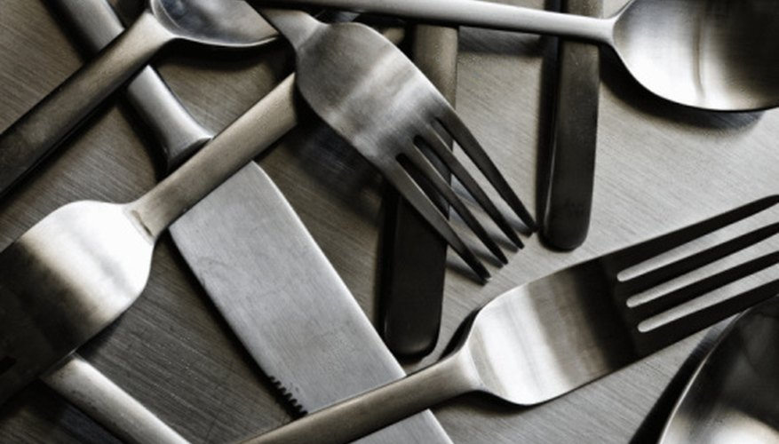 You can recycle your old, mismatched silverware to create a conversation piece in your home or garden.