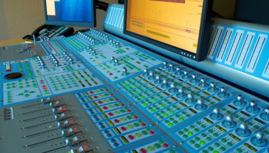 Music producers often have a hand in the technical aspects of the recording process.