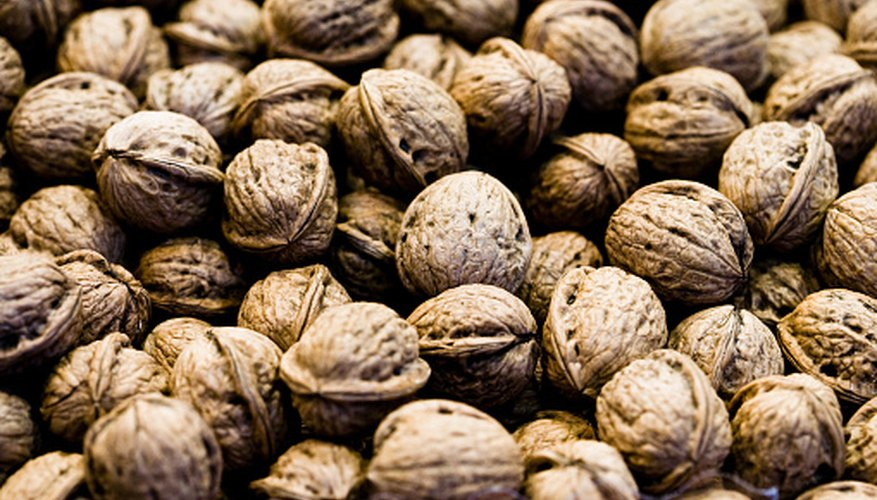 Many nuts compost easily, but walnuts can be problematic in a compost pile.