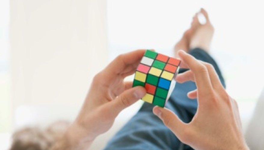 The 2x2x2 Rubik's cube is simpler than the 3x3x3 cube.