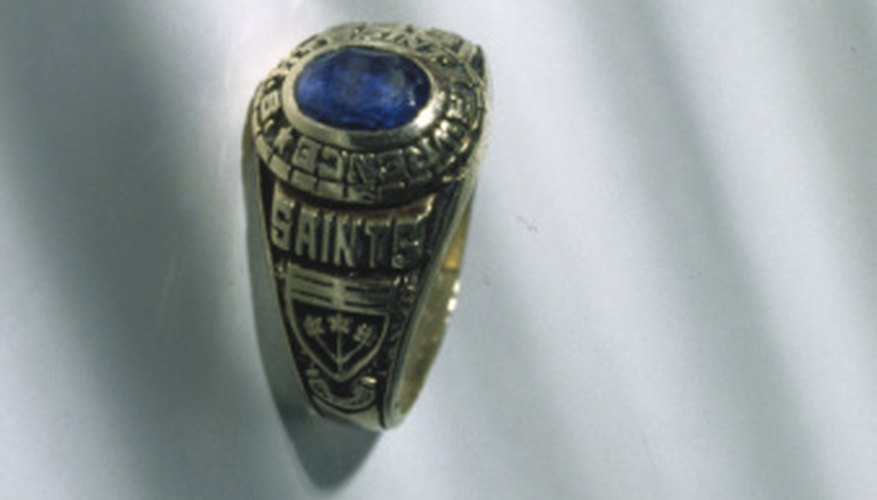 Class rings are often available to the students of the current year's graduating class.