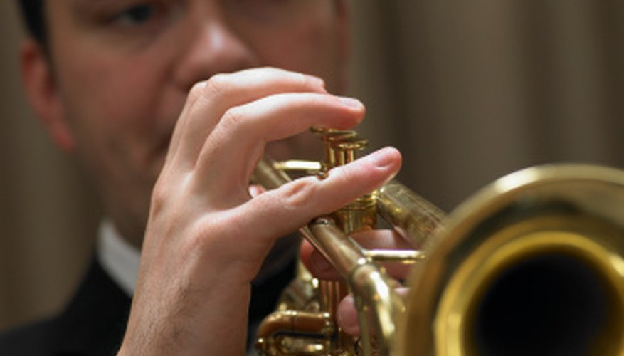A trumpet can produce a realistic horse's neighing sound.
