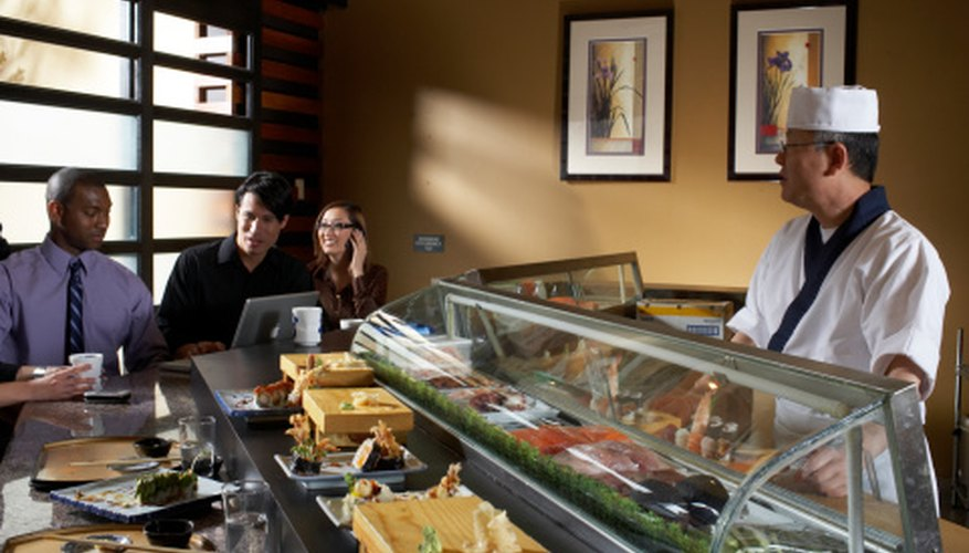 Un restaurante de sushi puede ser una excelente oportunidad de negocio.