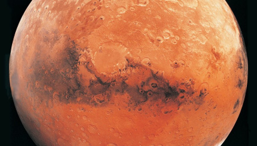 Mars, known as the red planet, has two satellites in its orbit.