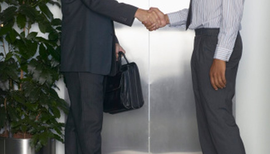 Negotiation is one of the key characteristics of businesses.