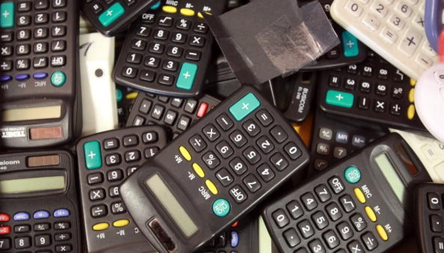 Use a TI-83 calculator to input mixed fractions.