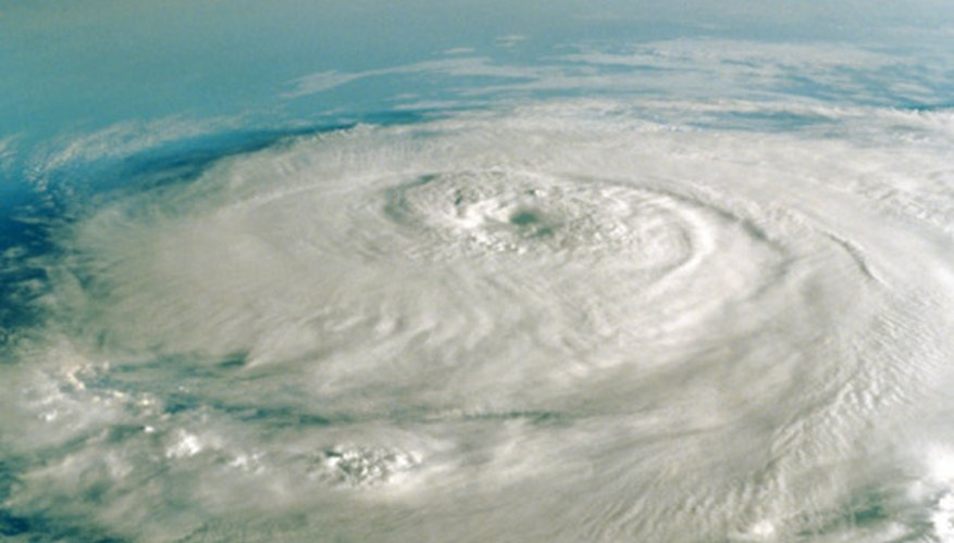 Hurricanes often form when cool air fronts stall over warm oceans.