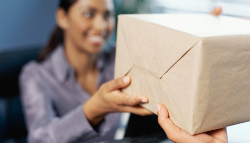 Each United Parcel Service package can be tracked online.