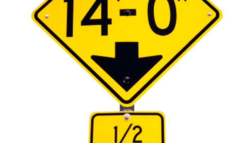 Distances Shown On Road Signs Are In Statute Miles