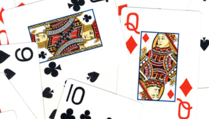 A deck of playing cards can help students learn the division process.