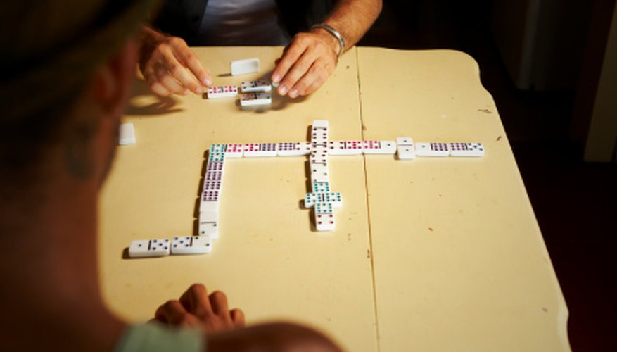 Dominican dominoes is an easy game to learn.