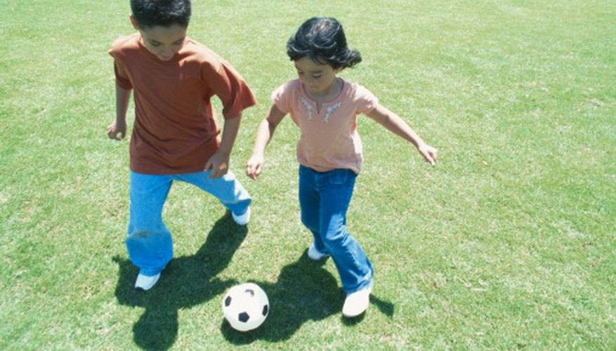 Teach children about shadows during outdoor play.