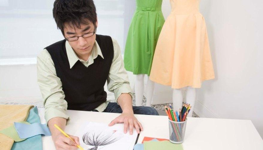 Los diseñadores de moda trabajan para una amplia gama de empleadores.