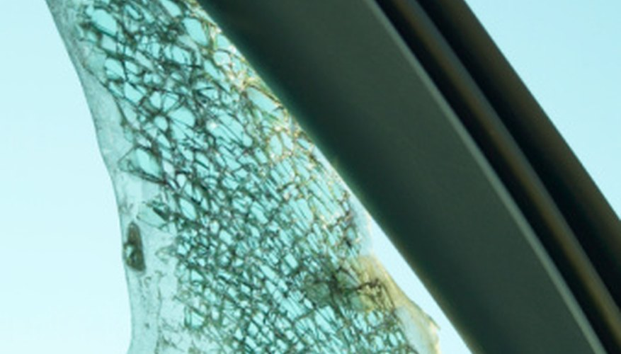On certain cars, the windshield is a structural component.