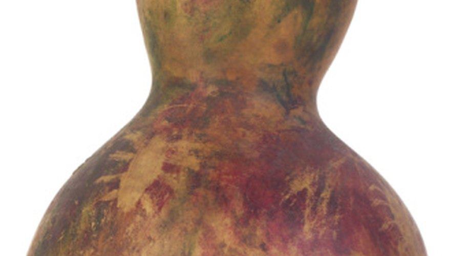 Bottle gourds have distinctive, unusual shapes.