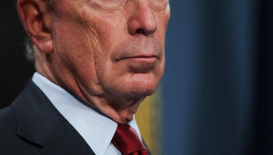 New York City Mayor Michael Bloomberg chooses to be paid $1 per year.
