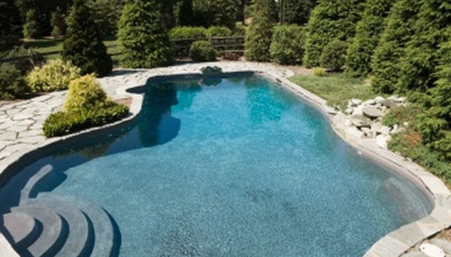 Swimming pool water hardness should be monitored to prevent pool damage.