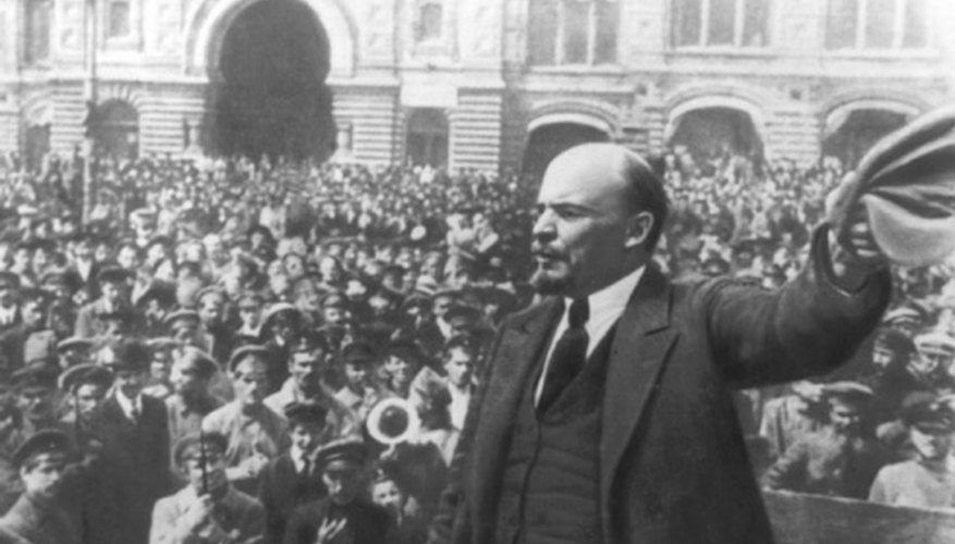 Vladimir Lenin, founder of the first 20th-century command economy.