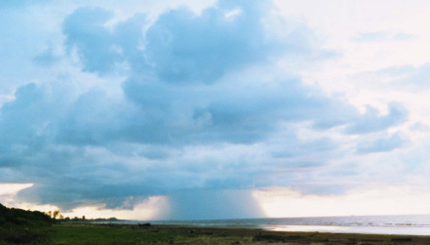 Cumulonimbus clouds produce severe weather, including intense rain, high winds, hail and tornadoes.