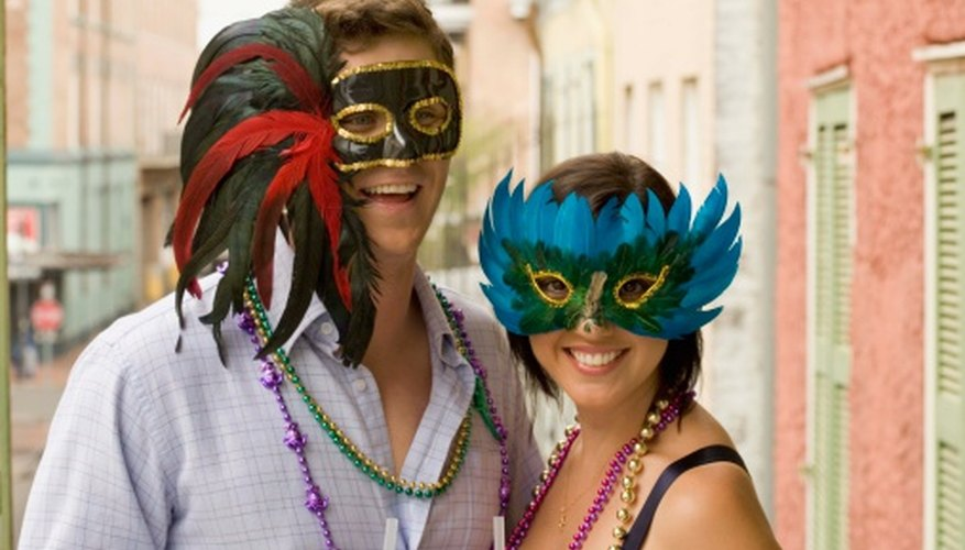 Historic New Orleans offers numerous ideas for Halloween costumes.
