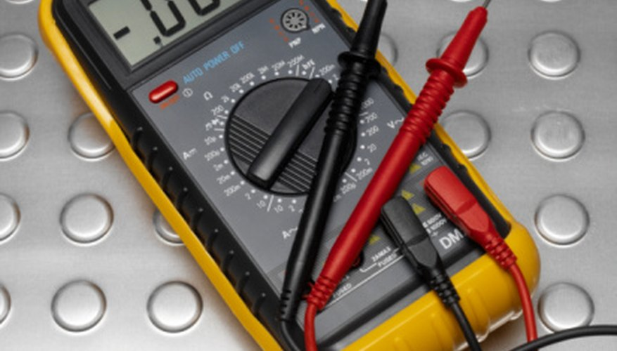 Use a digital multimeter to test a bridge diode.