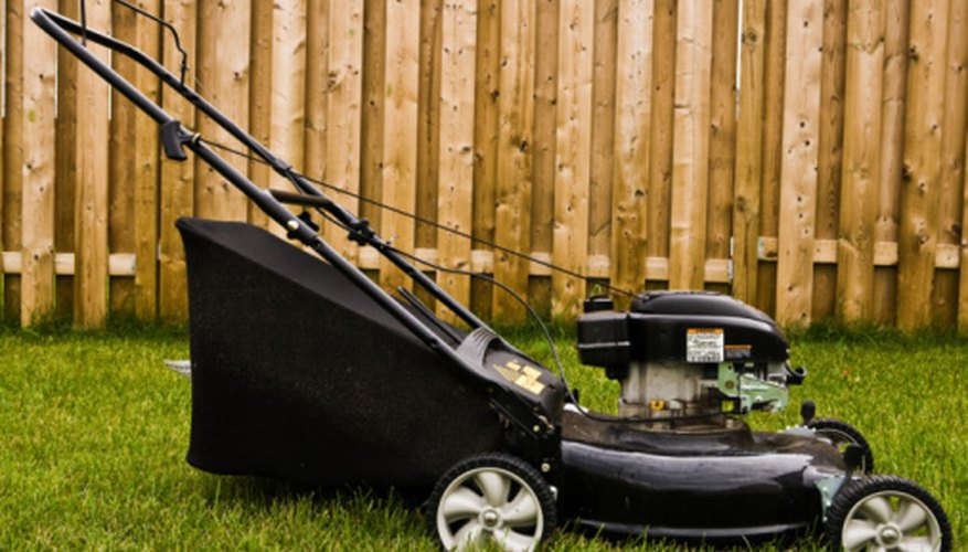 All small lawn mowers will have to meet new EPA guidelines in 2012.