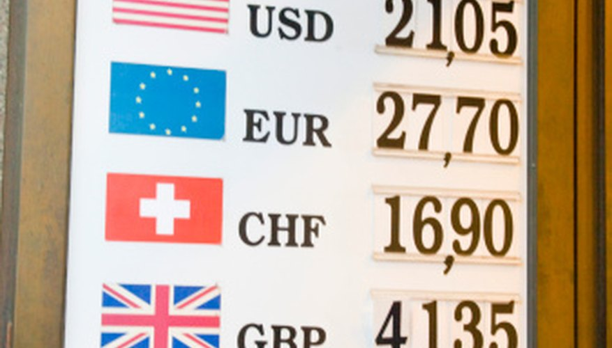 Daily Exchange Rates Are Posted At Airports