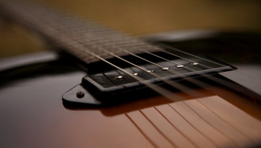 Electric guitar pickups can be easily tested using a multimeter.