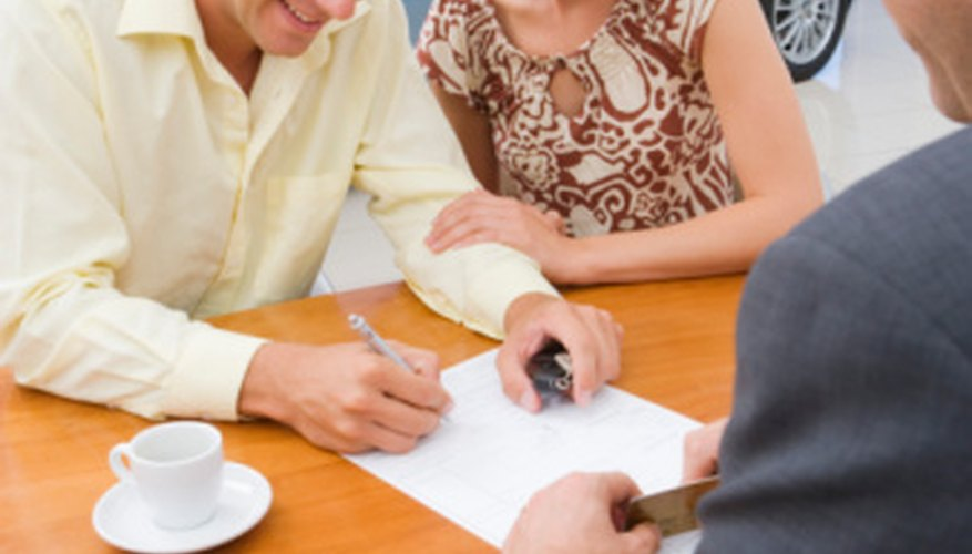 Car buyers must understand the terms of a lease agreement before signing on the dotted line.