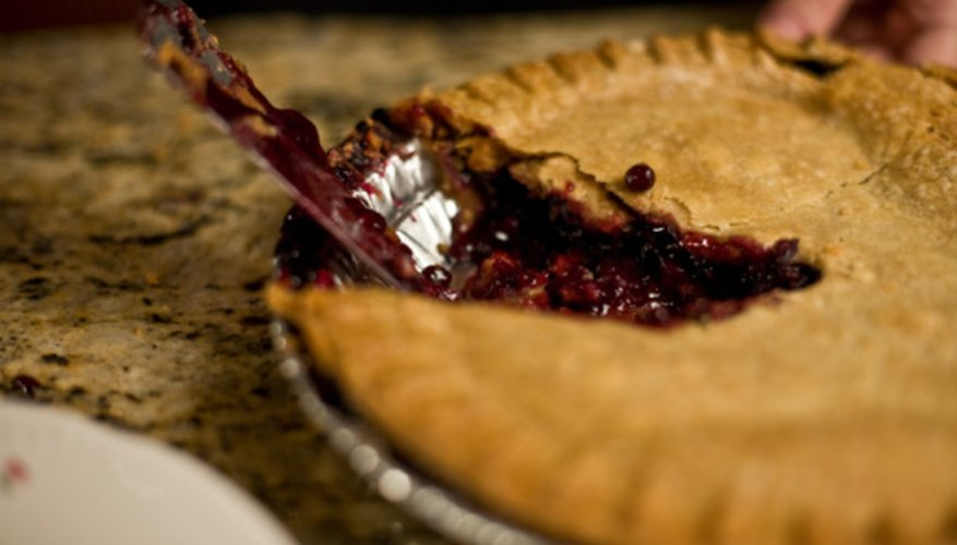 One slice of pie represents a fraction of the entire pie.
