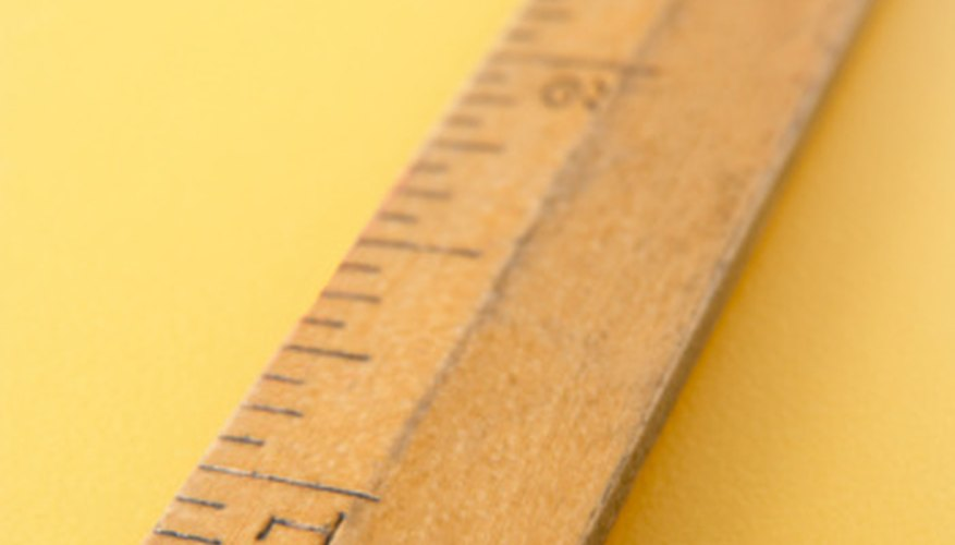 Rulers can be marked with one or more measurement scales.