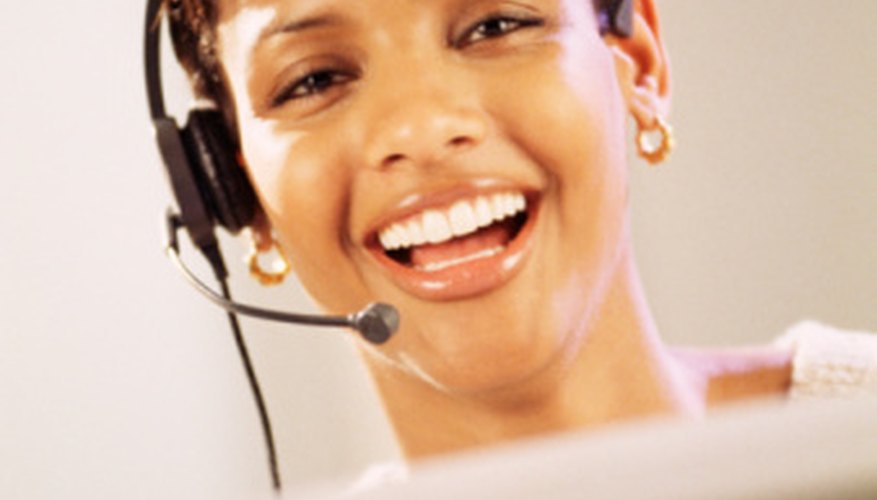Some employees enjoy interacting and helping customers on the telephone.