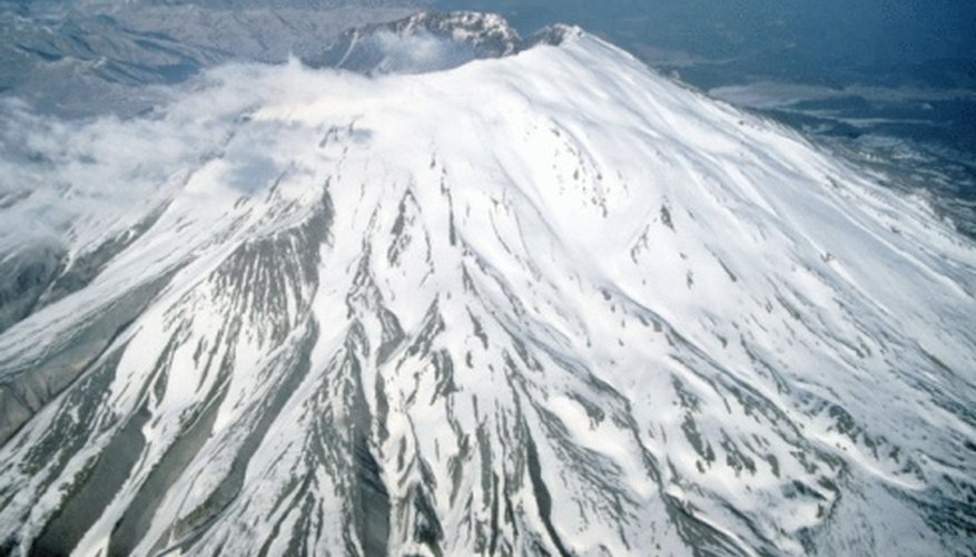Mount St. Helens had massive ground deformation before its eruption.