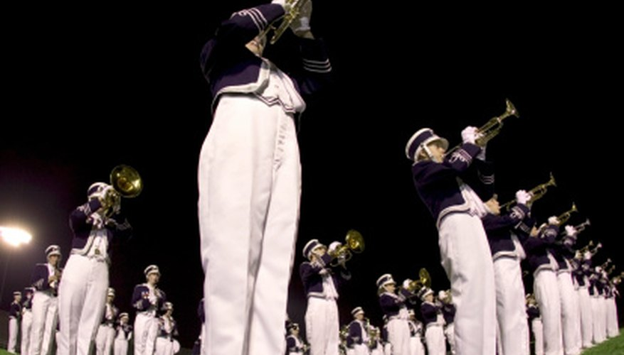 Bands employ several instrumental forces to create music.