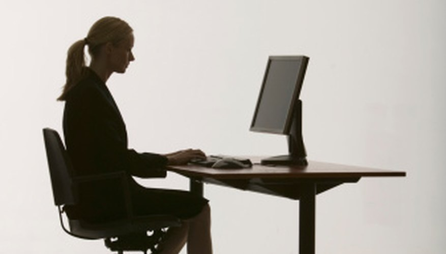 The workstation should promote an ergonomically correct seating posture.