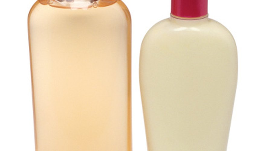 Shampoos and conditioners claim to keep hair healthy and strong.