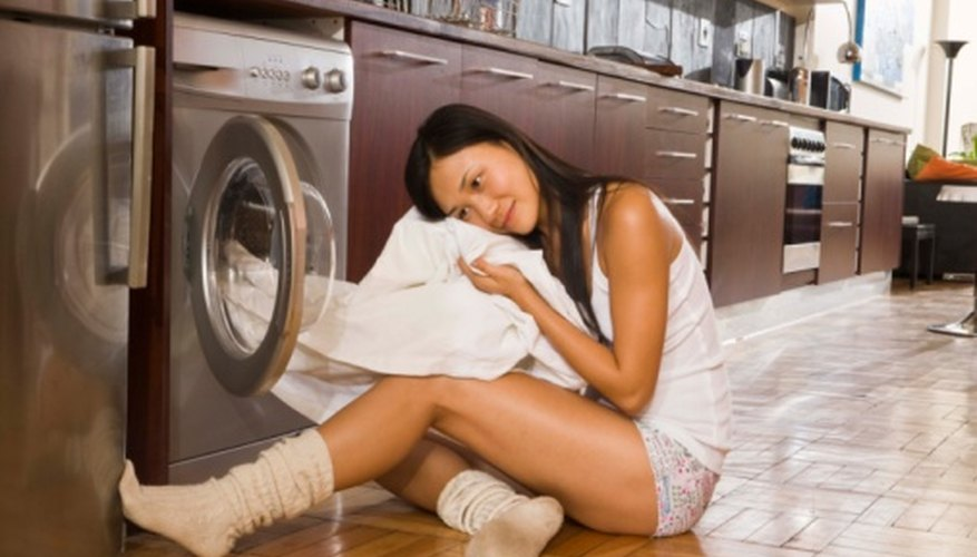 Fabric softener makes laundry softer and less static.