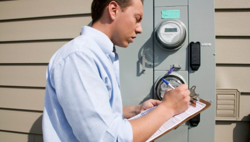 Electric-meter nameplate specifications contain information pertaining to the meter's technical characteristics.