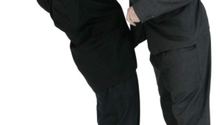 Report bullies to employers to relieve tension at work.