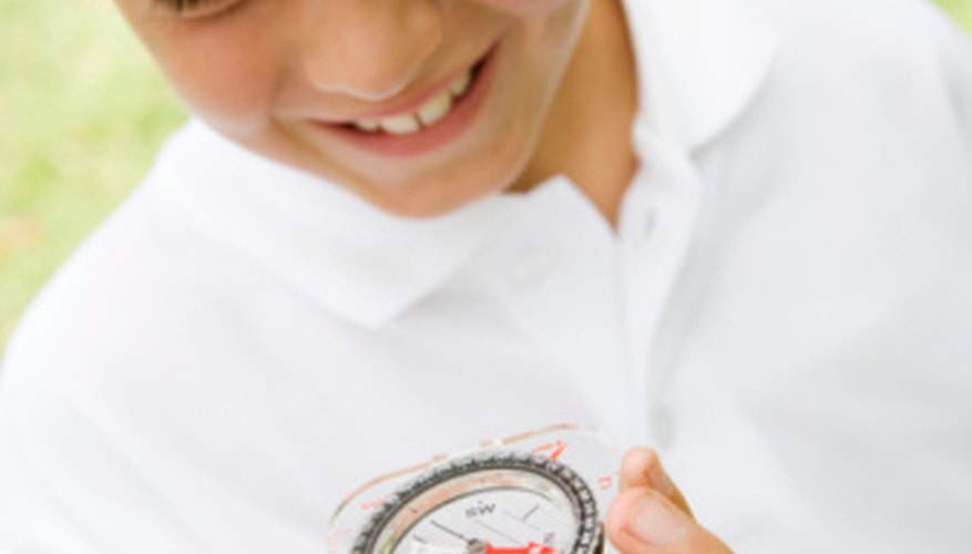 Students can create their own compasses to learn the concepts of magnetism.