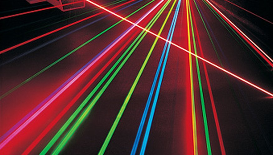 Laser pointers produce different colors at different wavelengths.
