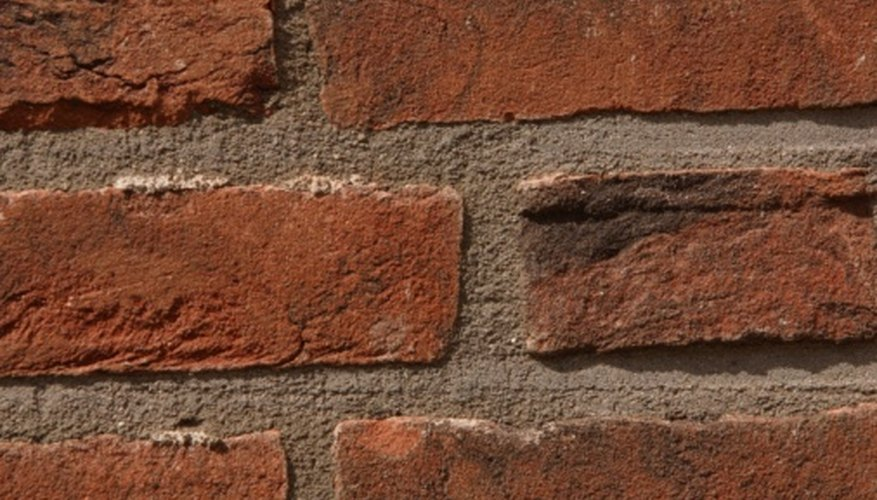 Cements are used to hold bricks together.