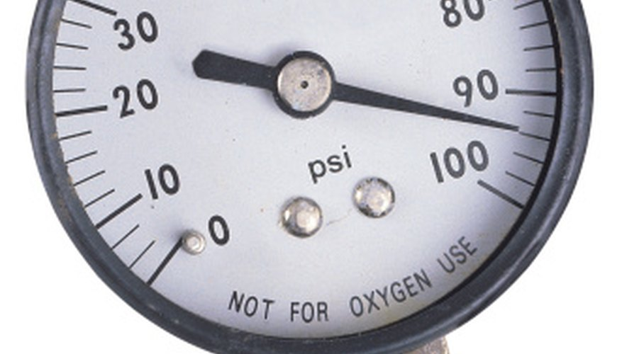 A Magnehelic Pressure Gauge tells yout the pressure difference between two rooms.