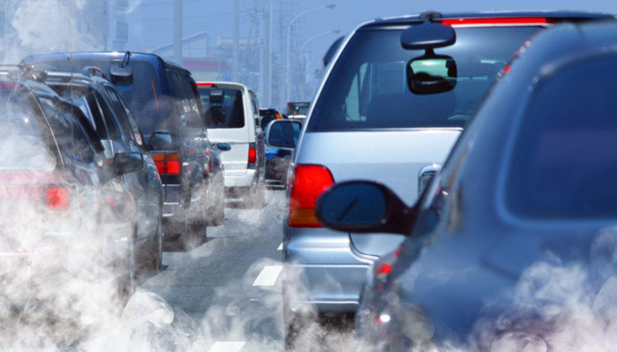 what gases cause air pollution