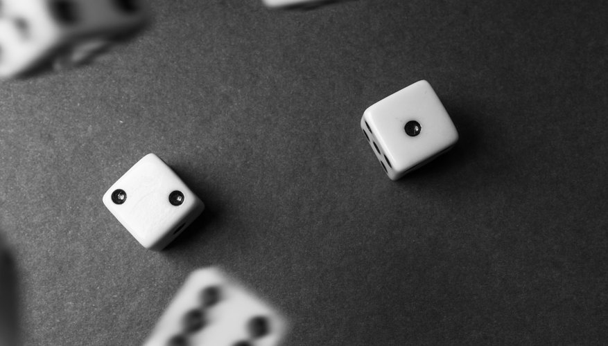 How To Calculate Dice Probabilities Sciencing